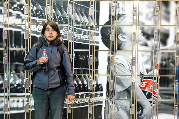 Grocery Store Lockers<br /> -Punta Arenas, Chilean Patagonia