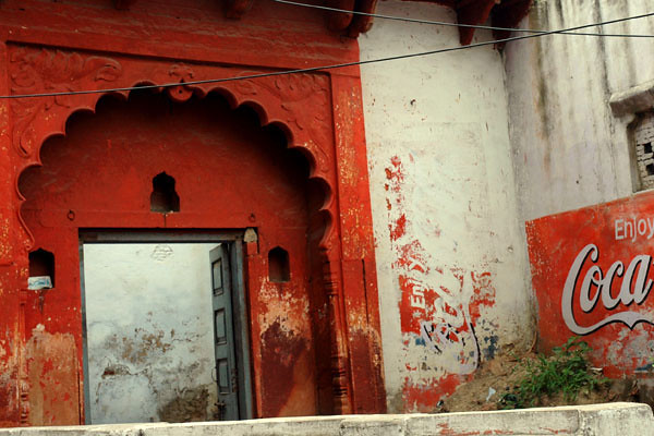 Faded Doorway<br /> -Agra, India