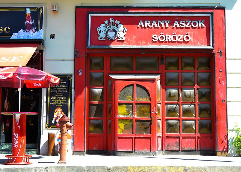 Arany Ászok söröző (brasserie and bar)<br /> -Budapest, Hungary