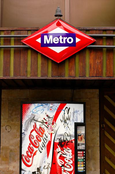Metro Stop<br /> -Salamanca, Spain