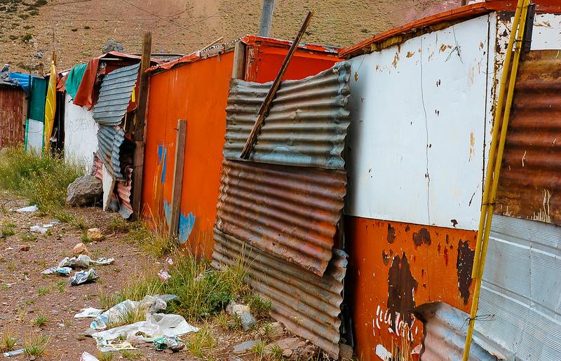 Shops<br /> Puente del Inca, The Andes<br /> Argentina