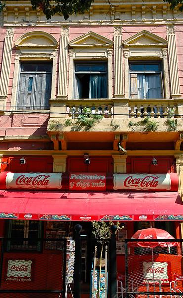 Cafe in La Boca<br /> -Buenos Aires, Argentina