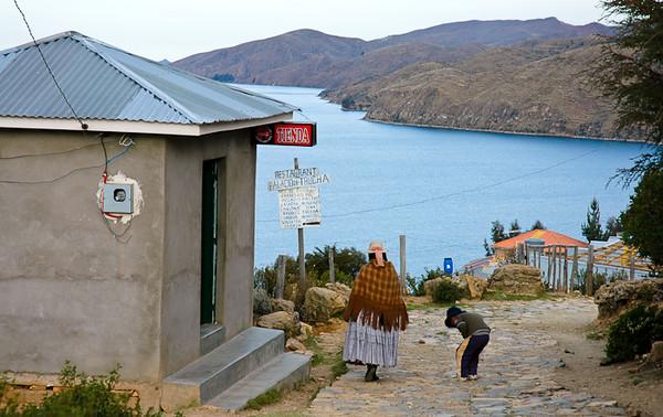 Palacia de Trucha on Lake Titicaca<br /> -Isla del Sol, Bolivia