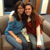 Melinda Reyes and Kaitlyn Hughes, Agape Ministry leaders 2012-2103