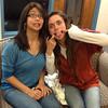 Melinda Reyes and Kaitlyn Hughes, Agape Ministry leaders, 2012-2013