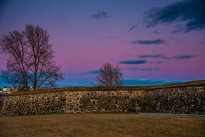 Oslo Sentrum: sunset
