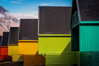 Houses in Longyearbyen
