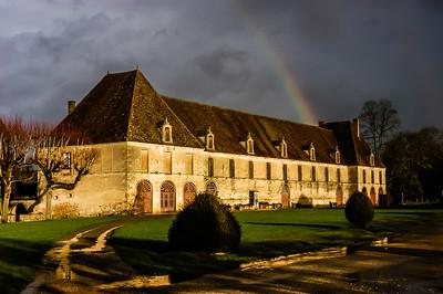Rainbow in Bourgogne