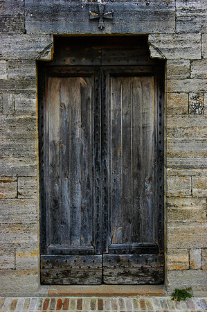 Door in S. Gimignano