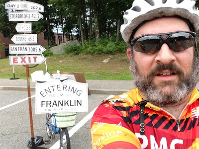 At the Franklin water stop