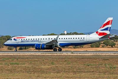 BA CityFlyer Embraer ERJ-190-100SR G-LCYP 7-18-19