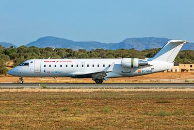 Air Nostrum Bombardier CL-600-2B19 CRJ-200ER EC-HPR 7-18-19