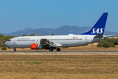 SAS Scandinavian Airlines Boeing 737-883 LN-RPN 7-18-19
