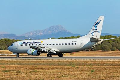 Air Mediterranean Boeing 737-405 SX-MAH 7-18-19