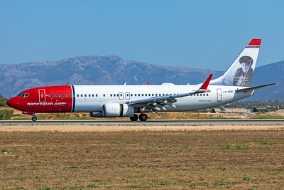 Norwegian Air Shuttle Boeing 737-8JP LN-NIC 7-18-19