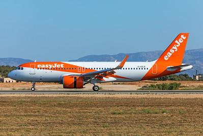 easyJet Airbus A320-251N G-UZLA 7-18-19