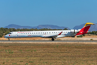 Air Nostrum Bombardier CL-600-2E25 CRJ-1000 9H-LKF 7-18-19