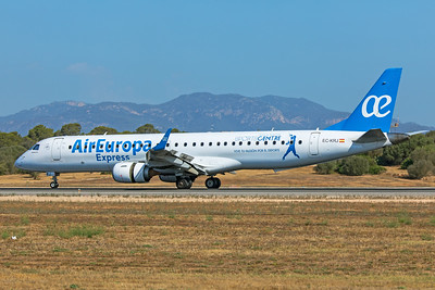 Air Europa Express Embraer ERJ-190-200LR EC-KRJ 7-18-19