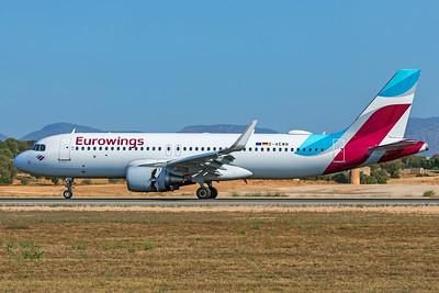 Eurowings Airbus A320-214 D-AEWN 7-18-19