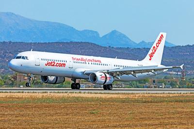 Jet2 Airbus A321-231 YL-LCV 7-18-19