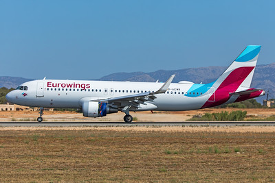 Eurowings Airbus A320-214 D-AEWR 7-18-19