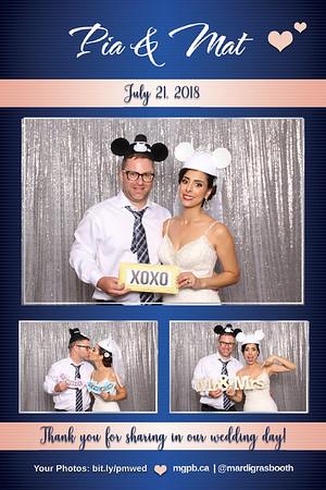 Pia & Mat's Wedding - July 21, 2018