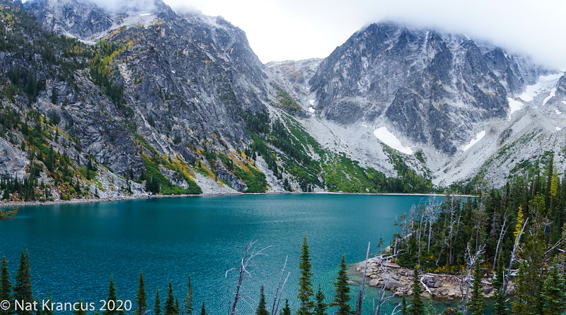 Lake Colchuck and Aasgard Pass, Washington State, September, 2017