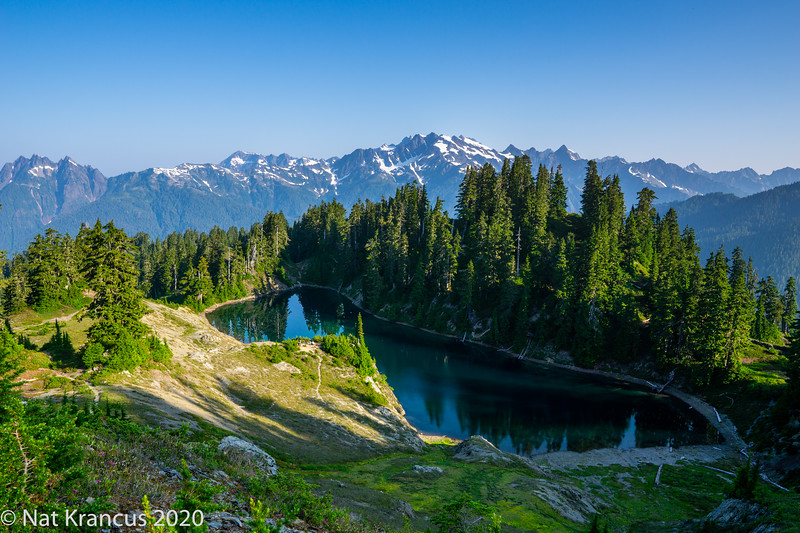 Lake Beauty, Olympic National Park, Washington State, July 2018