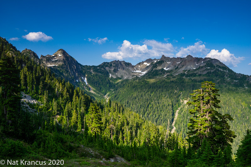 Mount Seattle, Olympic National Park, Washington State, July 2018