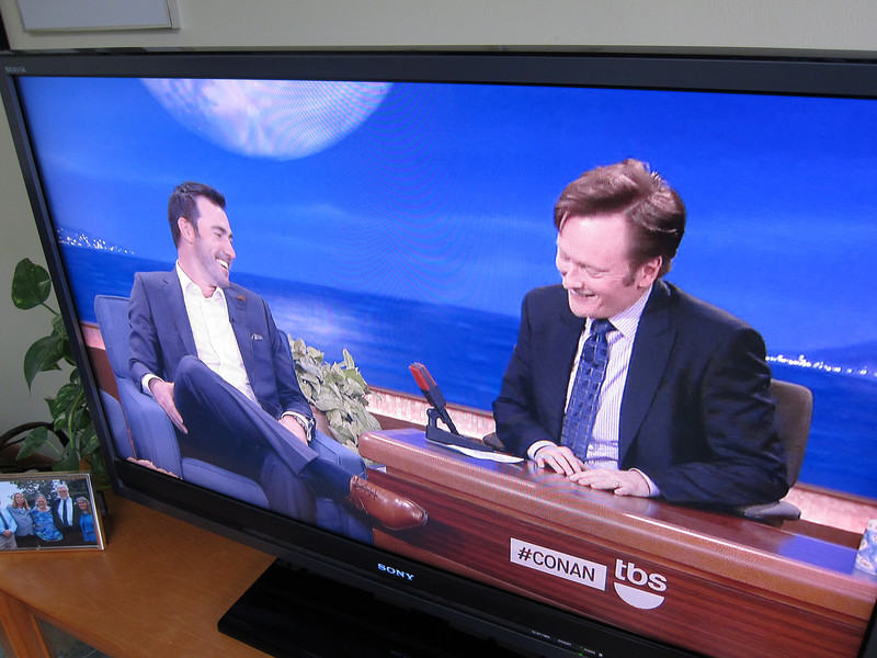 Justin Verlander on Conan