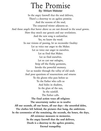THE PROMISE - By: William Webster