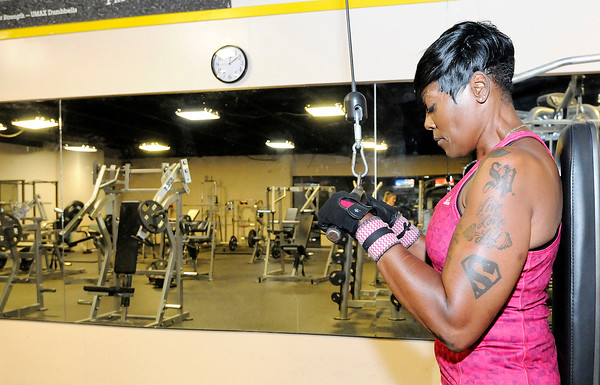 Don Knight | The Herald Bulletin<br /> Shyrley Jones is majoring in exercise science and minoring in nutrition at Anderson University.