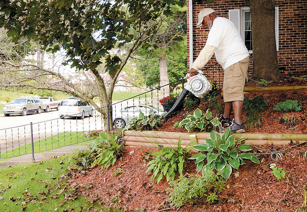 Don Knight   The Herald Bulletin<br /> Stan Barclay stays physically active with his landscaping company StanScapes.