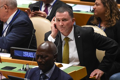 Israel Speaker of the Knesset Yuli Edelstein at the United Nations