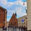 ST. MARY'S BASILICA, KRAKOW,POLAND