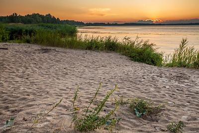 Vistula river near Włocławek.