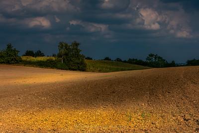 Landscape near Golub - Dobrzyń.