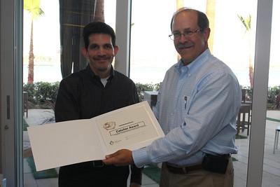 2009 Catcher Award Winner - Steve
