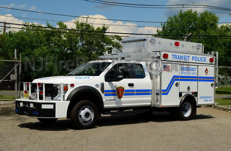 NEW JERSEY TRANSIT POLICE ESU-5