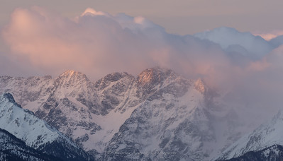 Colorful Tatra Mountains morning