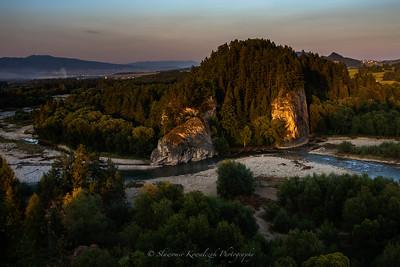 Bialka river.