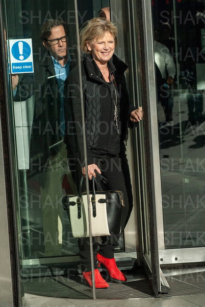 London, UK, Anna Soubry leaves the BBC, Broadcasting House, after appearing on the Andrew Marr Show. - 05/11/2017