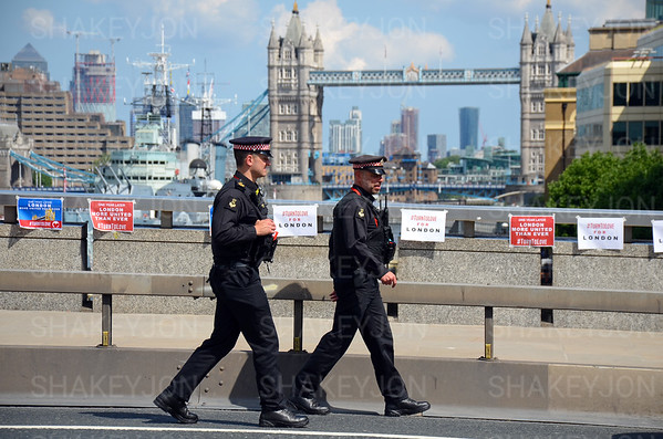 London, UK, London Bridge terror attacks anniversary 3 June 2018