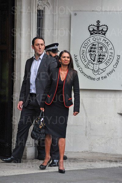 Gina Miller arrives at the Supreme Court on day 4 of the appeal against the Brexit decision.