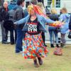 Jeremy Corbyn supporter dancing.