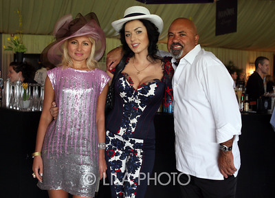 l to r  Anjelika Kouznetsov, Dione Dorozhkino and J.C. Collavo