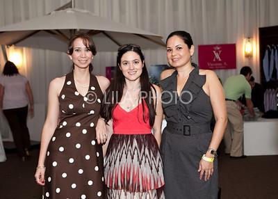 Melissa Vianni, Elaine Reinoso, Gabriela Trelles