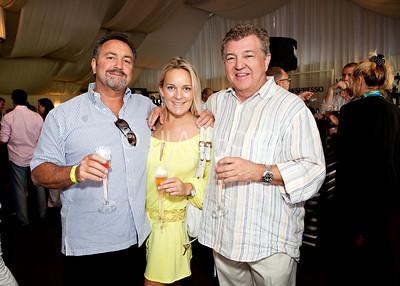 Mark Elliot, Elisha Ewing, Dough Marty (Arcalux Sponsor)