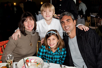 Joe and Renee Taverrite, with their kids Max and Siena.