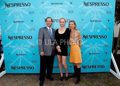 John Wash, Amber Valleta, Michelle McFaul (Nespresso)